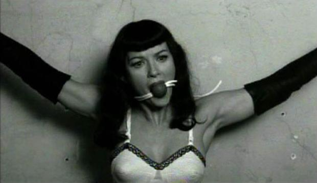 Betty Page Ball Gag