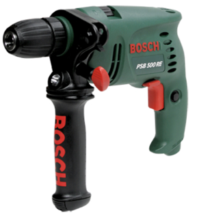 Bosch handheld stone drill, necessary for every household! From Byko.
